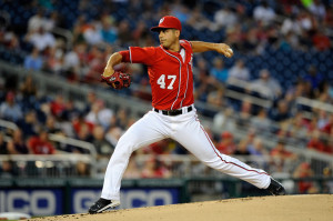 Gio+Gonzalez+Washington+Nationals+MLB