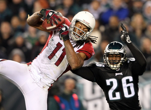 Larry+Fitzgerald+Arizona+Cardinals+v+Philadelphia+Eagles