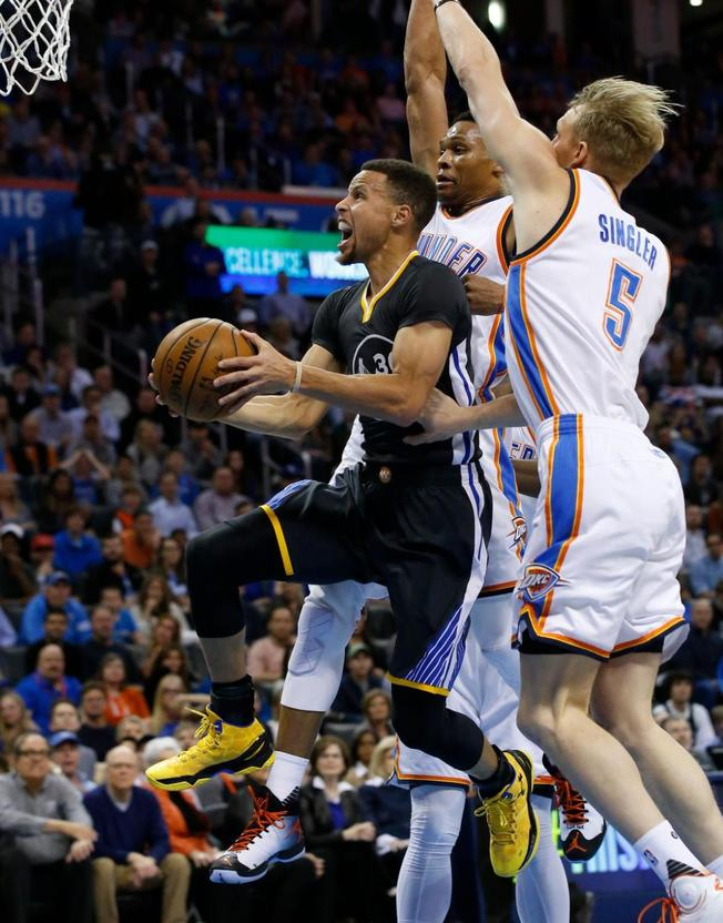 Oklahoma City Thunder+Golden State Warriors
