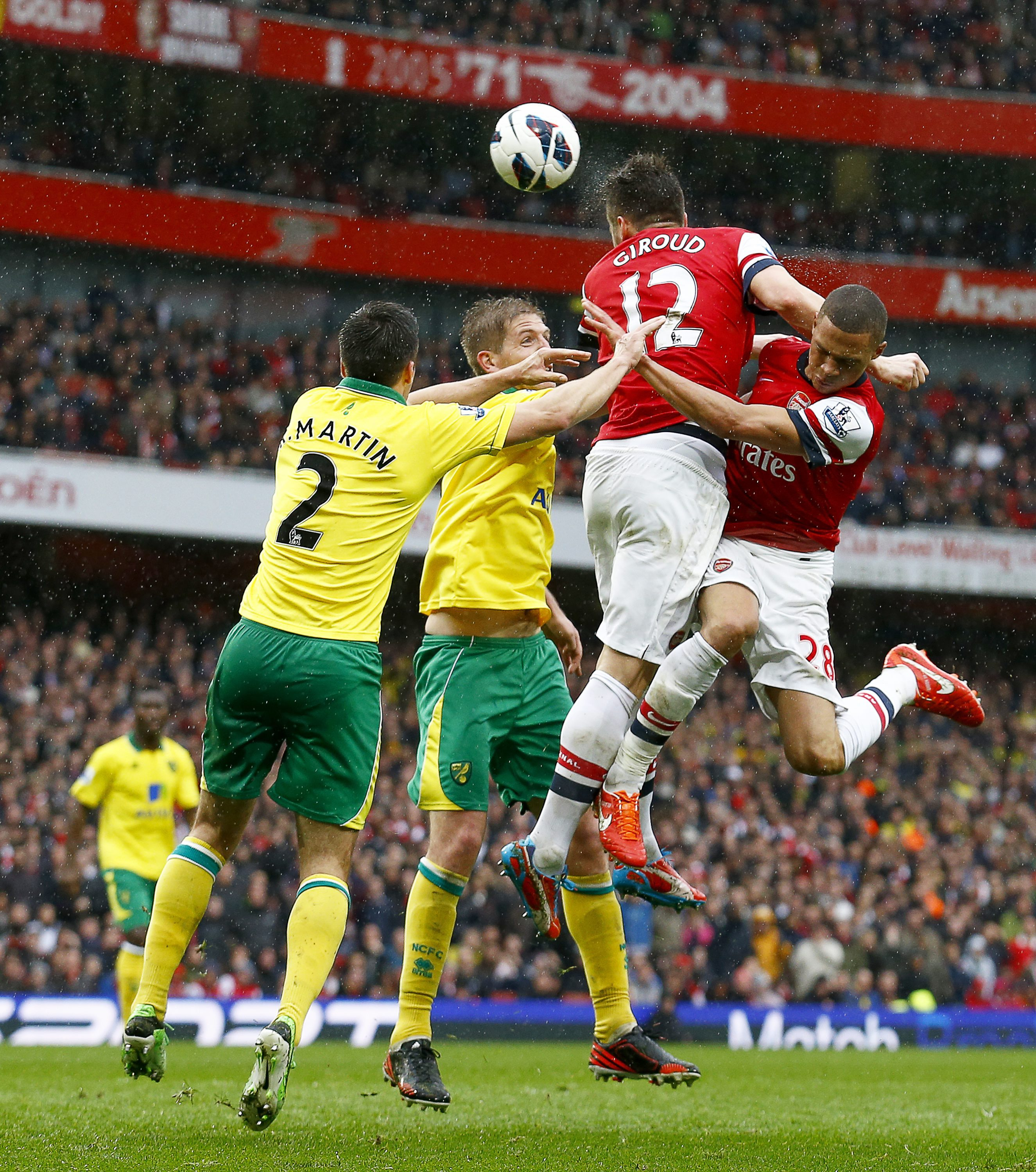 Norwich City FC at Arsenal FC - Premier League