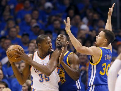 Golden State Warriors at Oklahoma City Thunder - Game 4