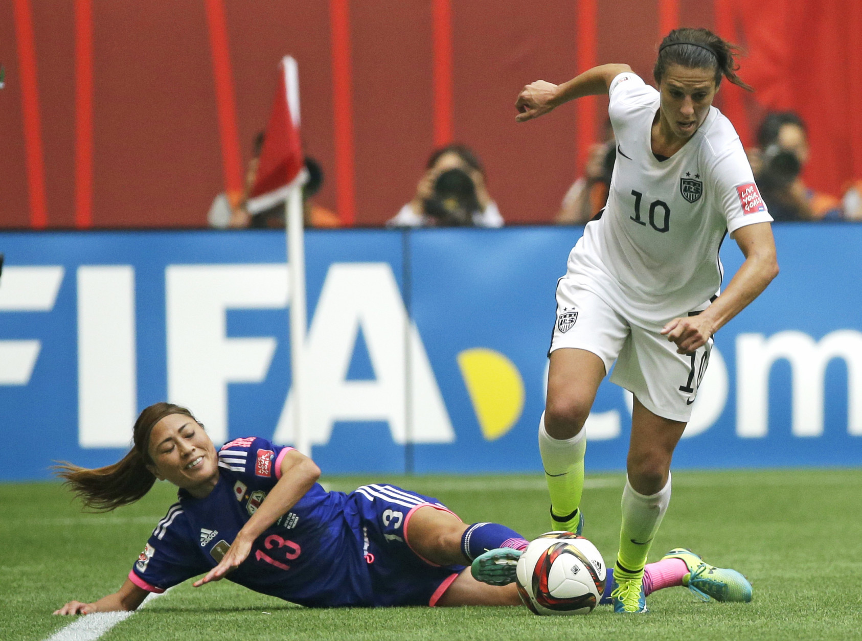 United States Womens National Team vs Japan
