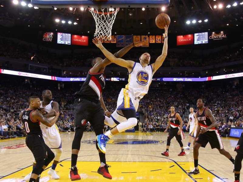 Golden state warriors x portland trail blazers