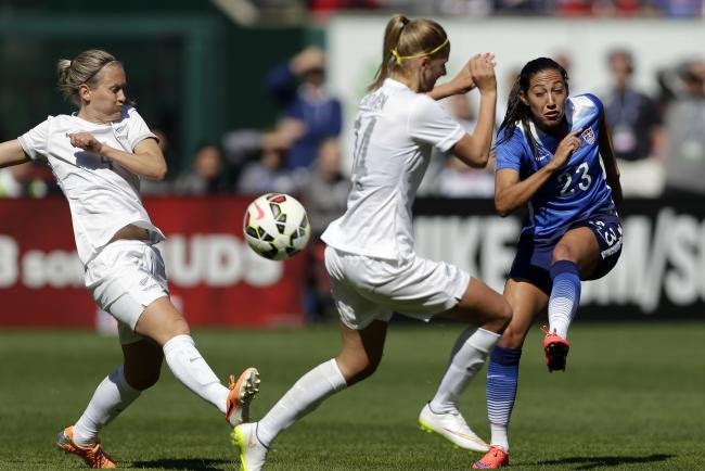 US women's soccer team blanks New Zealand