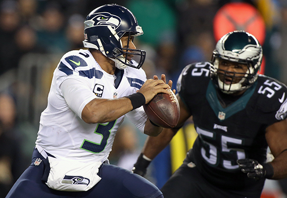 Seattle Seahawks vs Philadelphia Eagles Football
